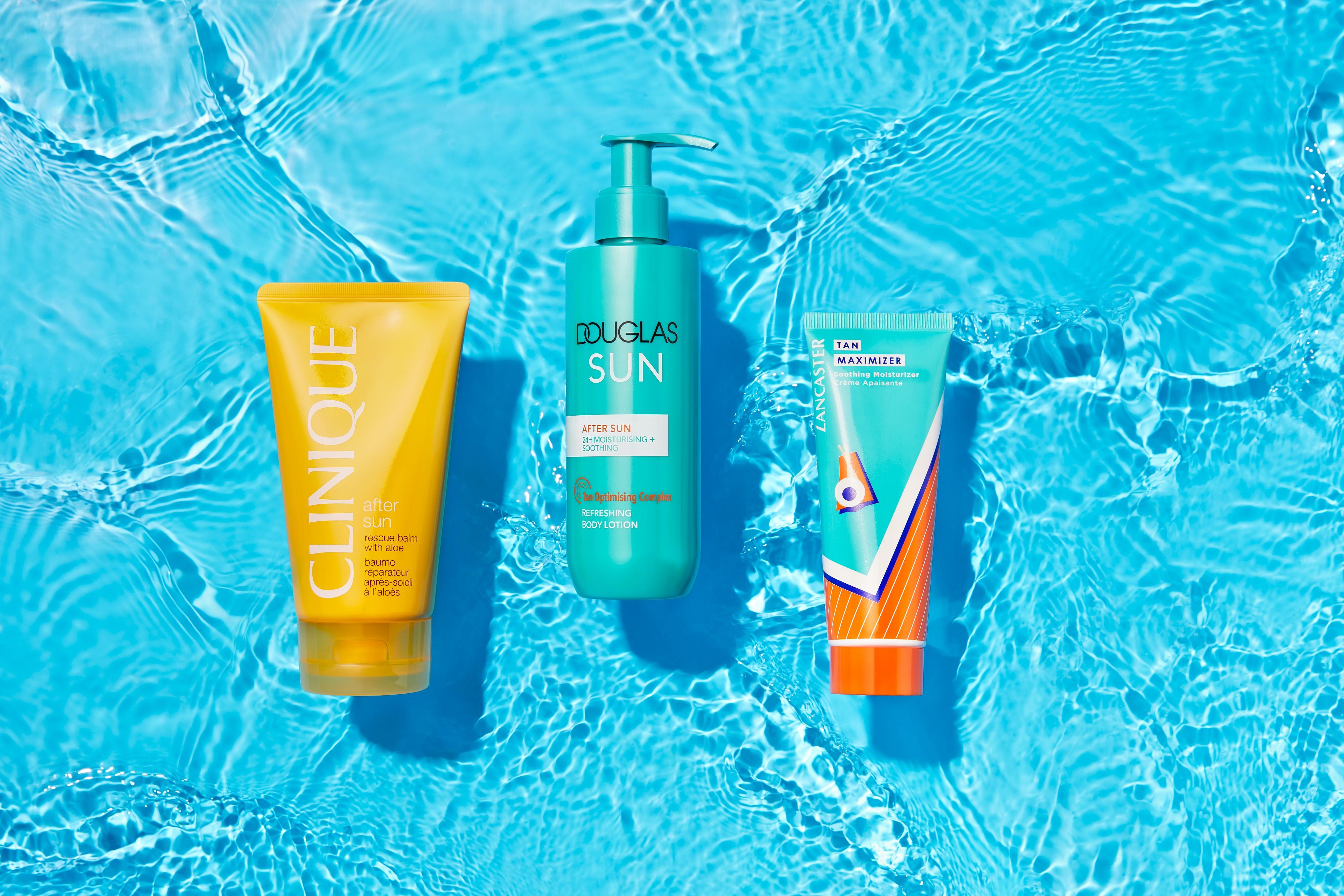 Skincare-product-on-water-douglas-collection-clinique-lancaster-unlimited-Web-Rendition
