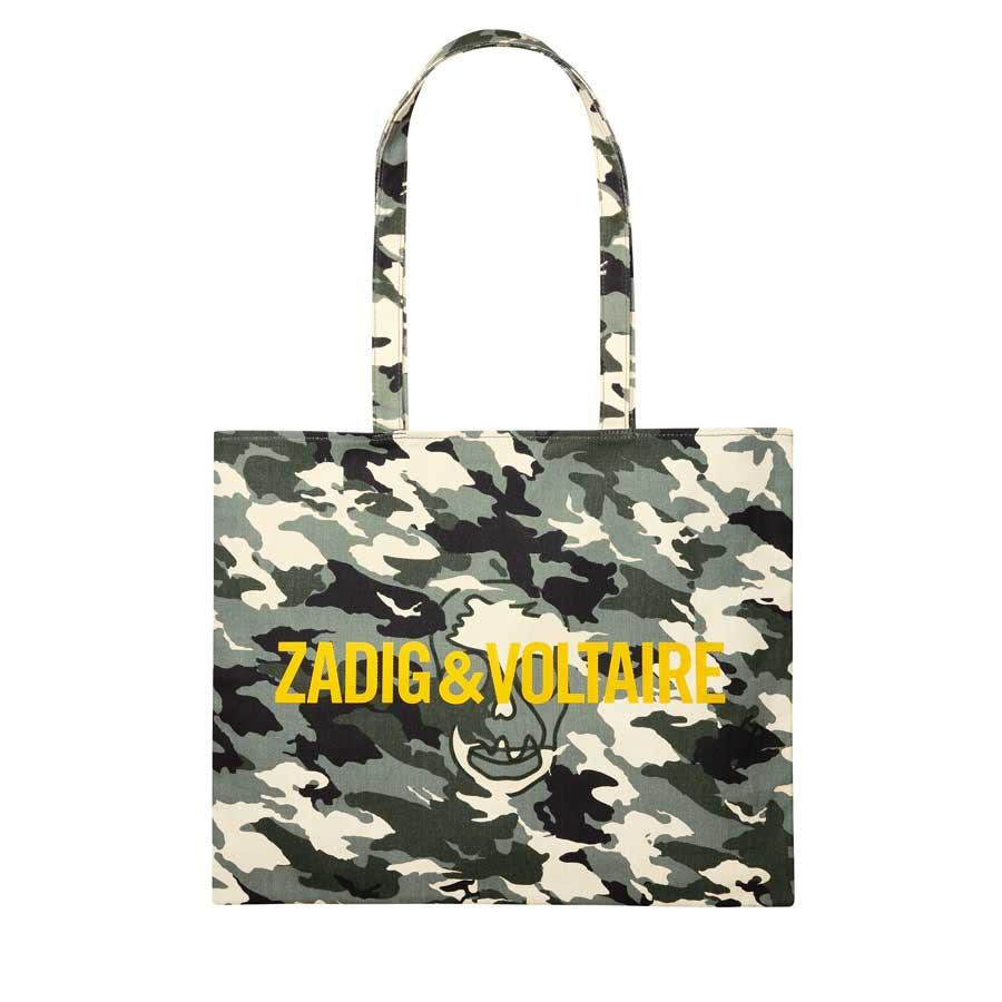Zadig & Voltaire maskáčová taška