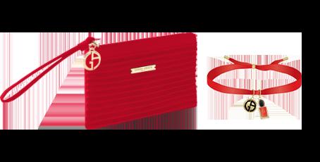 Giorgio Armani taštička + náramek