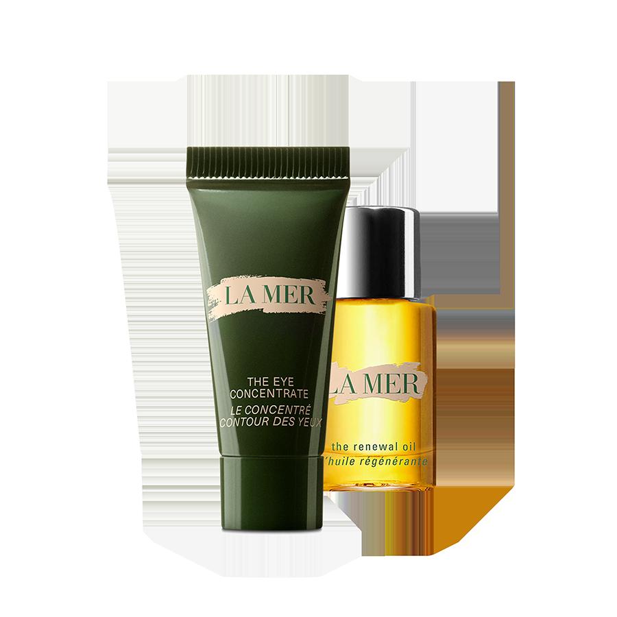 La Mer Delluxe Eye Set (Eye Concentrate 3ml + Renewal Oil 5 ml)
