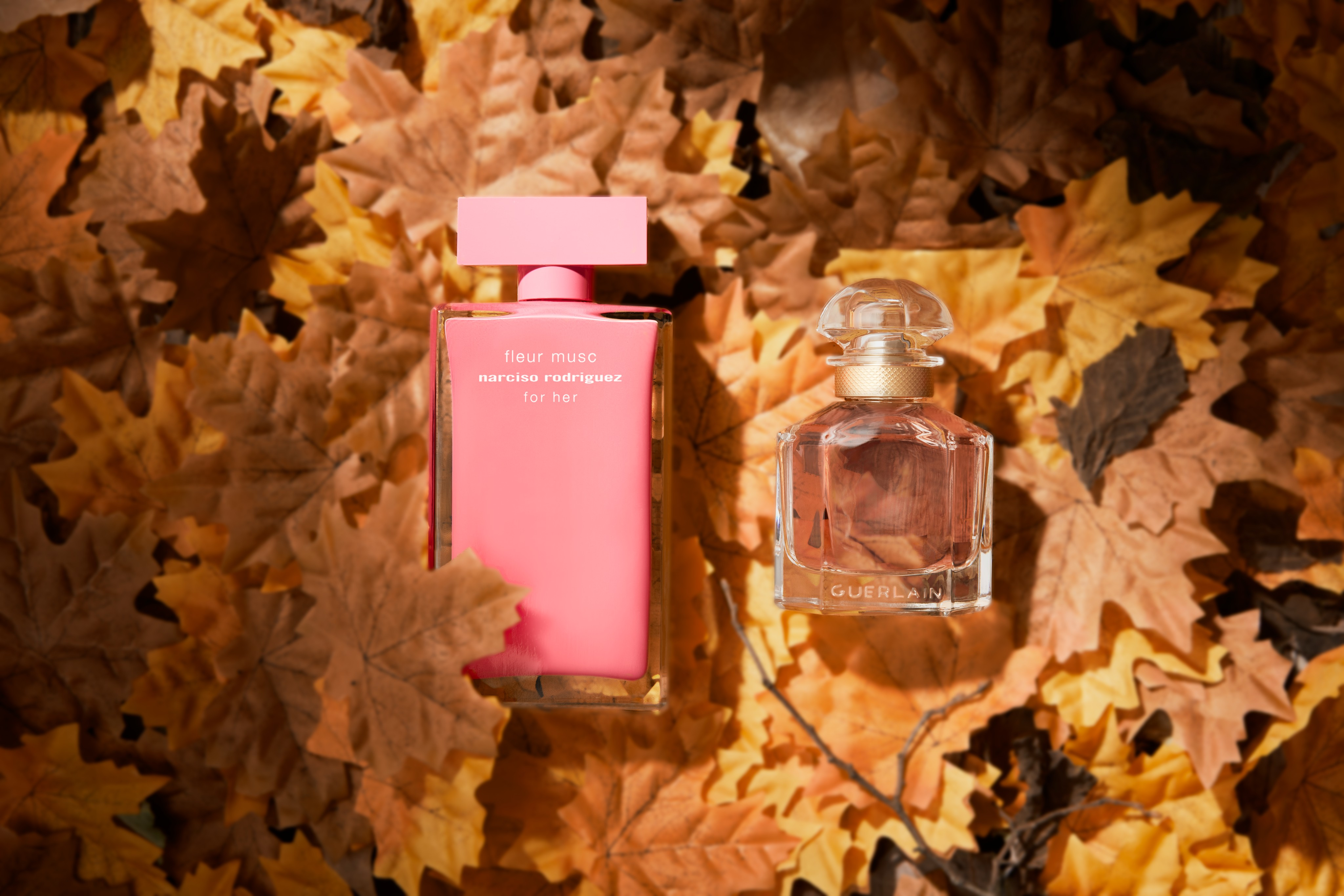 Fragrance-product-Guerlain-Narciso-autumn-leaves-unlimited-Web-Rendition