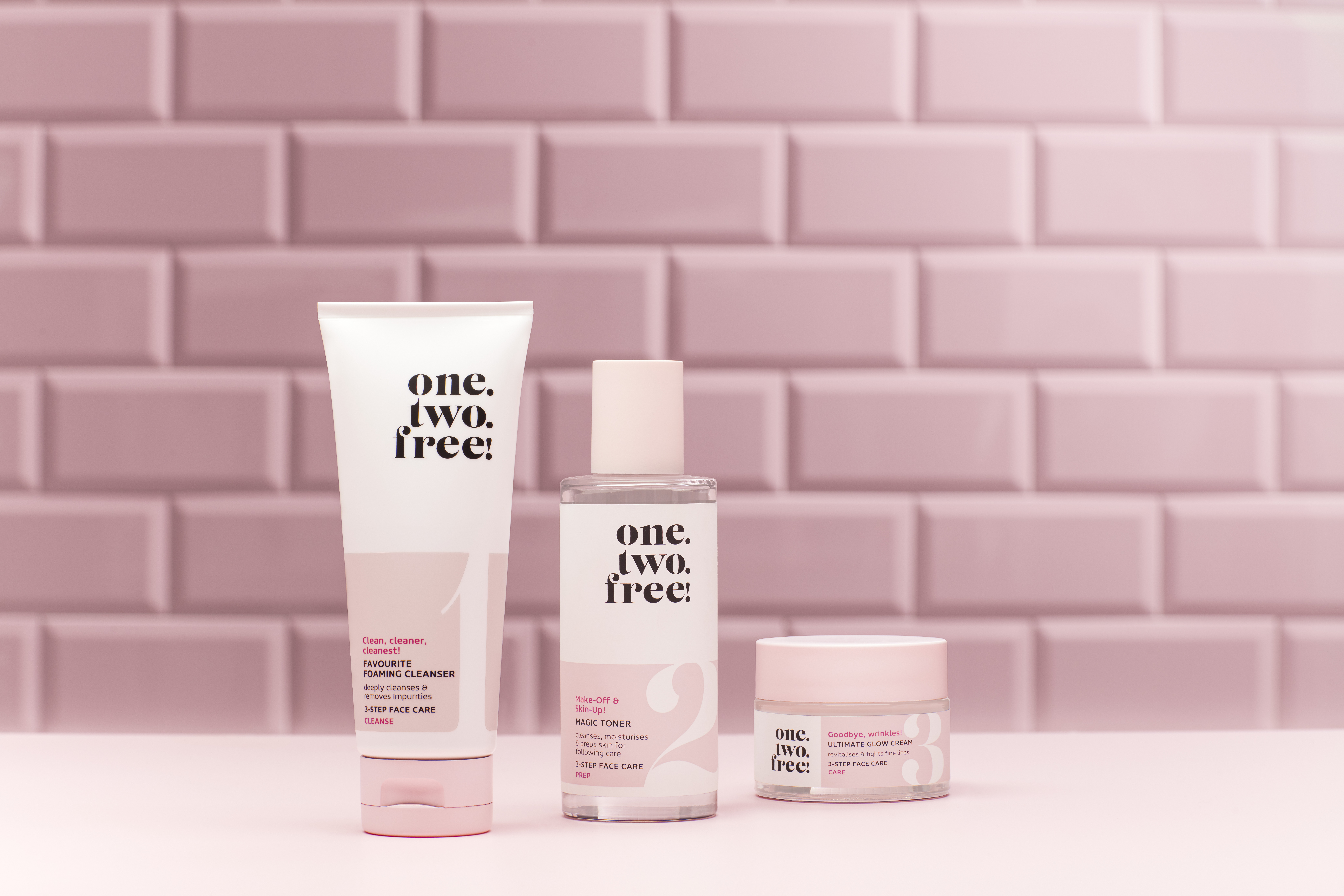 Skincare-product-one-two-free-all-products-pink-tiles-v1-unlimited-Original-File