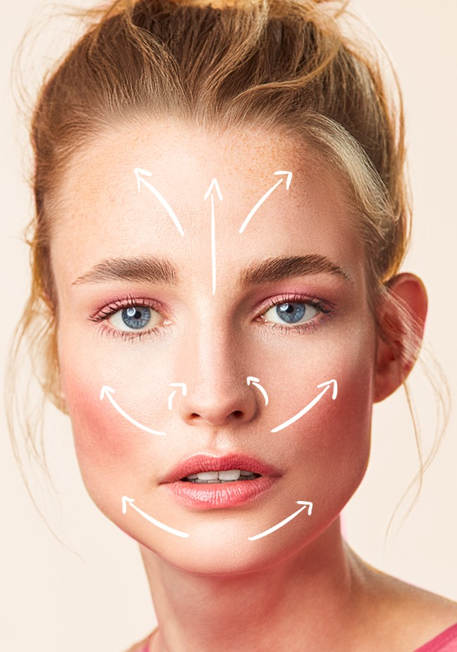 Makeup-beautyvisual-high-bun-pink-blouse-face-yoga-illustration-102022-Web-Rendition