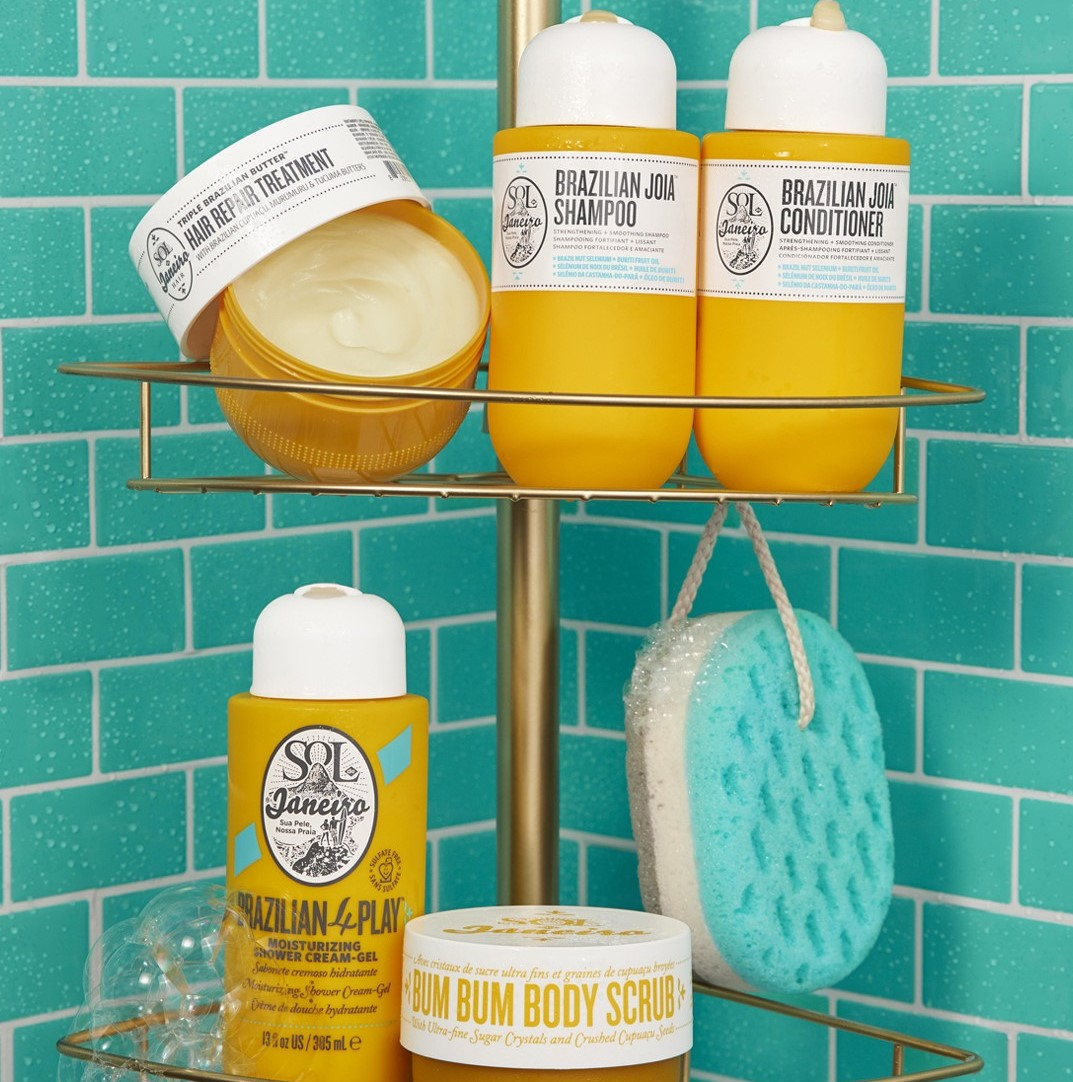 Crosscategory-product-sol-de-janeiro-groupshot-hair-products-turquoise-shower-4x5-0423-Web-Rendition